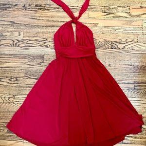BCBG Knit halter dress.